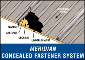 Meridian Concealed Fastener System