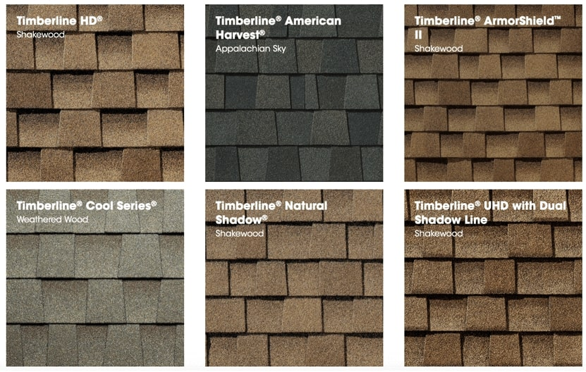 Gaf Timberline Architectural Roofing Shingles Jacksonville NC