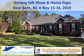 Holiday Gift Show Home Expo New Bern, NC Roofing